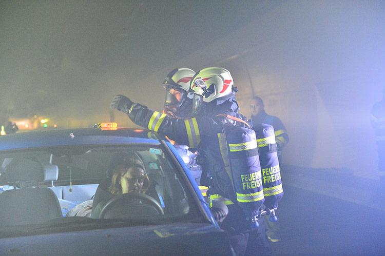 Tunnel S10 Feuerwehr