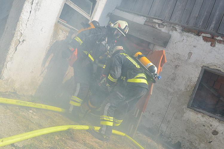 Atemschutzeinsatz Feuerwehr Freistadt