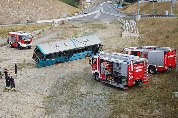 Busbergung Feuerwehr Freistadt
