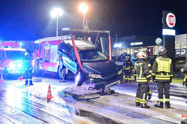 Verkehrsunfall FF Freistadt