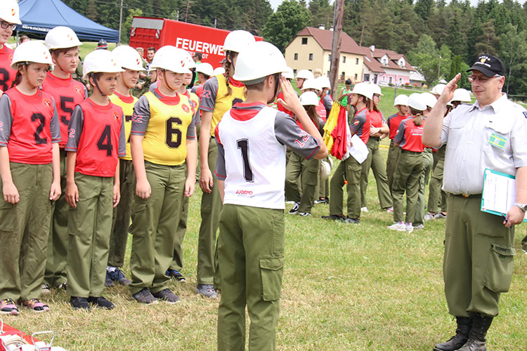 Bewerb Jugendfeuerwehr Freistadt