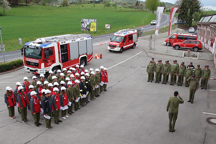 JFLA Jugendfeuerwehr Freistadt